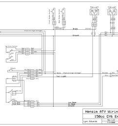 gy6 key wiring diagram wiring diagram schematics rh ksefanzone com 49cc scooter wiring diagram chinese 150cc atv wiring diagrams [ 1024 x 773 Pixel ]