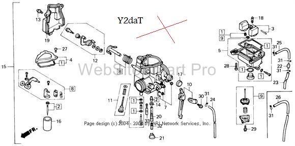 Honda 250x Fourtrax Parts Diagram. Honda. Auto Wiring Diagram