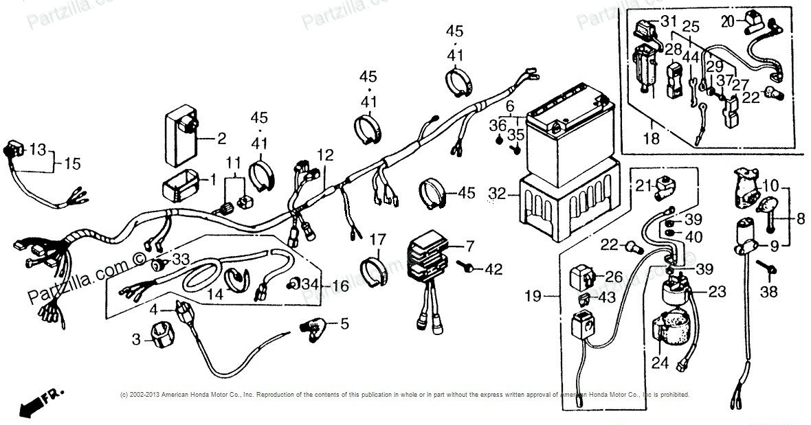Location of main fuse 20amp where is it located