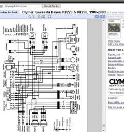 wiring diagram bayou 300 1987 page 3 atvconnection com 1989 kawasaki bayou 220 wiring diagram kawasaki [ 1024 x 768 Pixel ]