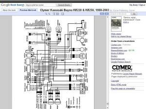 wiring diagram bayou 300 1987  Page 3  ATVConnection