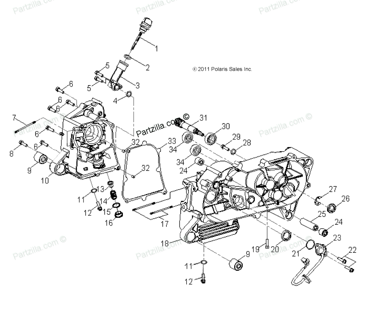 [WRG-7963] Polaris Outlaw 50 Wiring Diagram