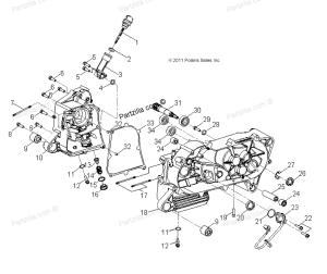Polaris Outlaw 50 idle rev limit  wiring diagram