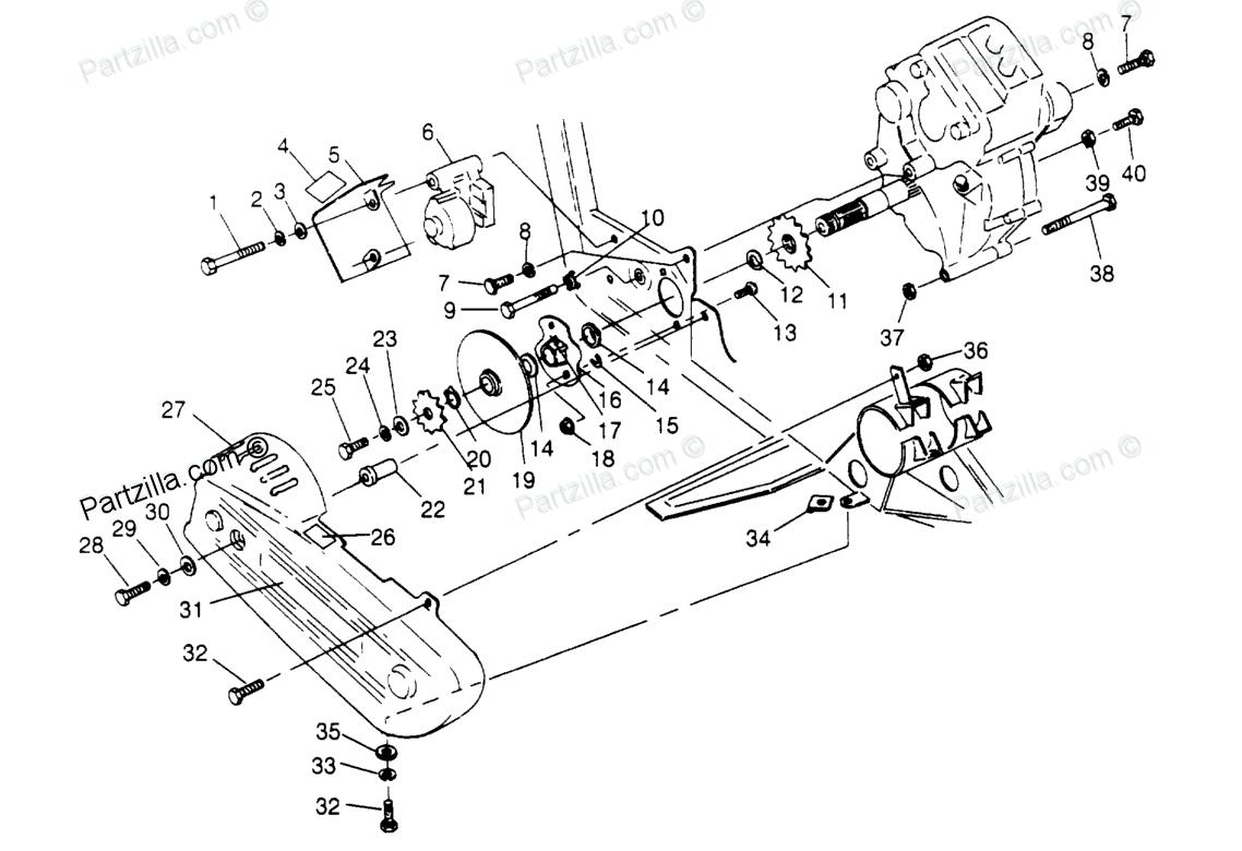 1994 Polaris Xplorer 300 4x4 Transmission change