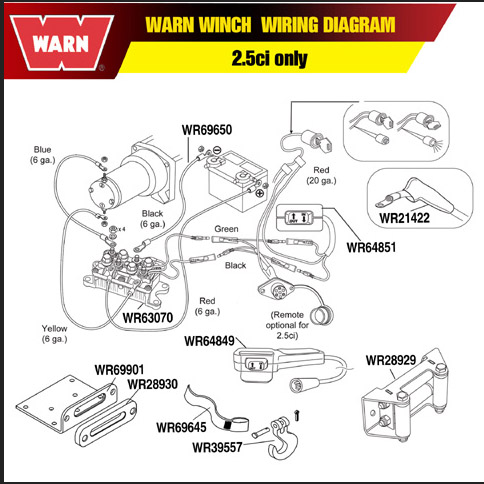 warn winch a2000 wiring diagram winch free printable wiring diagrams