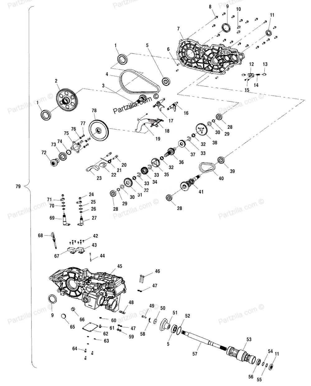 medium resolution of  2003 polaris sportsman ho 500 sdo only reads reverse on polaris predator 90