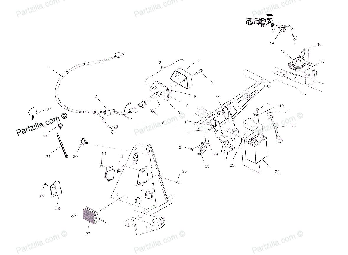 polaris magnum 330 stator wiring diagram