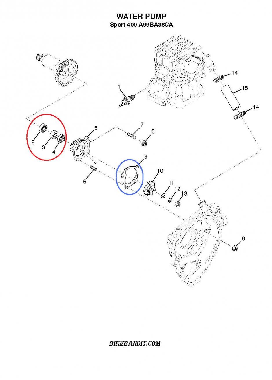 Polaris Scrambler 400 2 Stroke Engine Rebuild