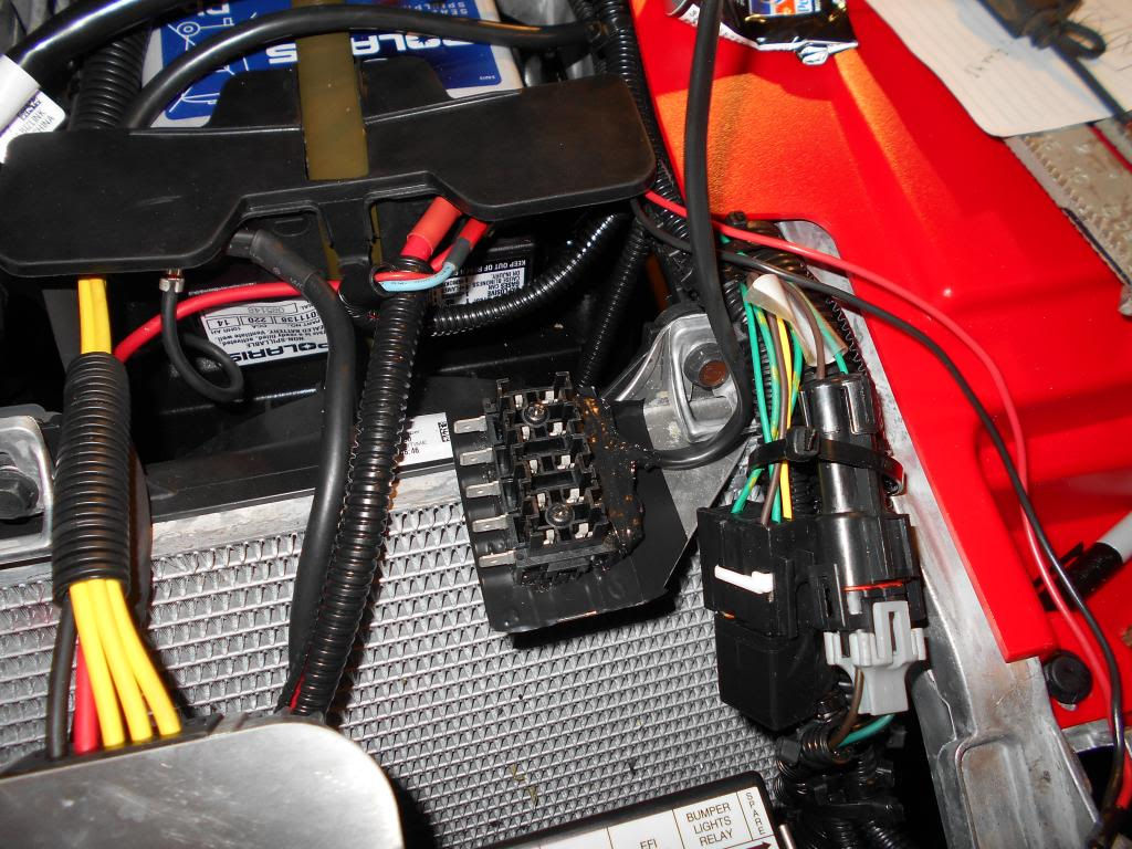 hand off auto wiring diagram vz sv6 2013 550 xp adding rear work lights with led taillights & reg plate - atvconnection ...