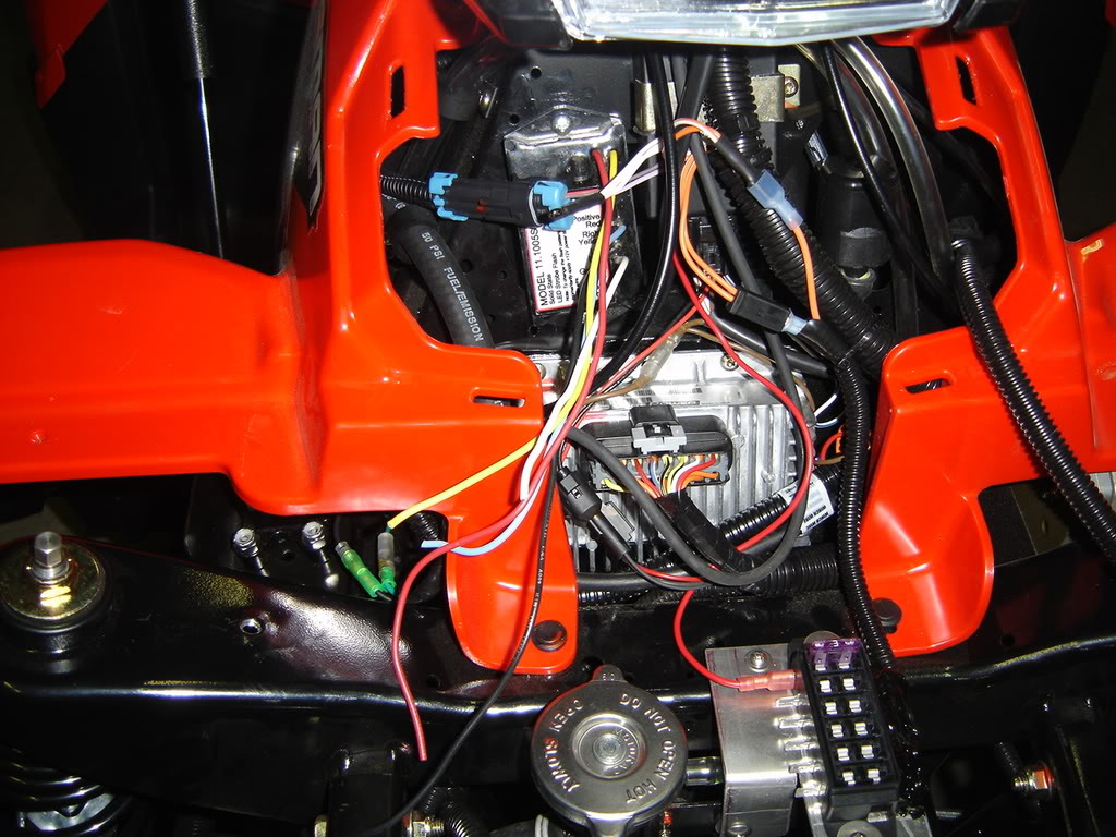 Honda Rancher 350 Es Wiring Diagram Installing Polaris Winch Final Connection