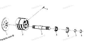 How to install inner seal on front left hub, 1987 trail