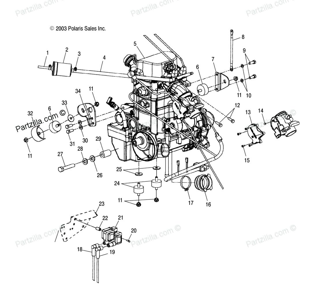 2004 polaris sportsman 700 fuel filter