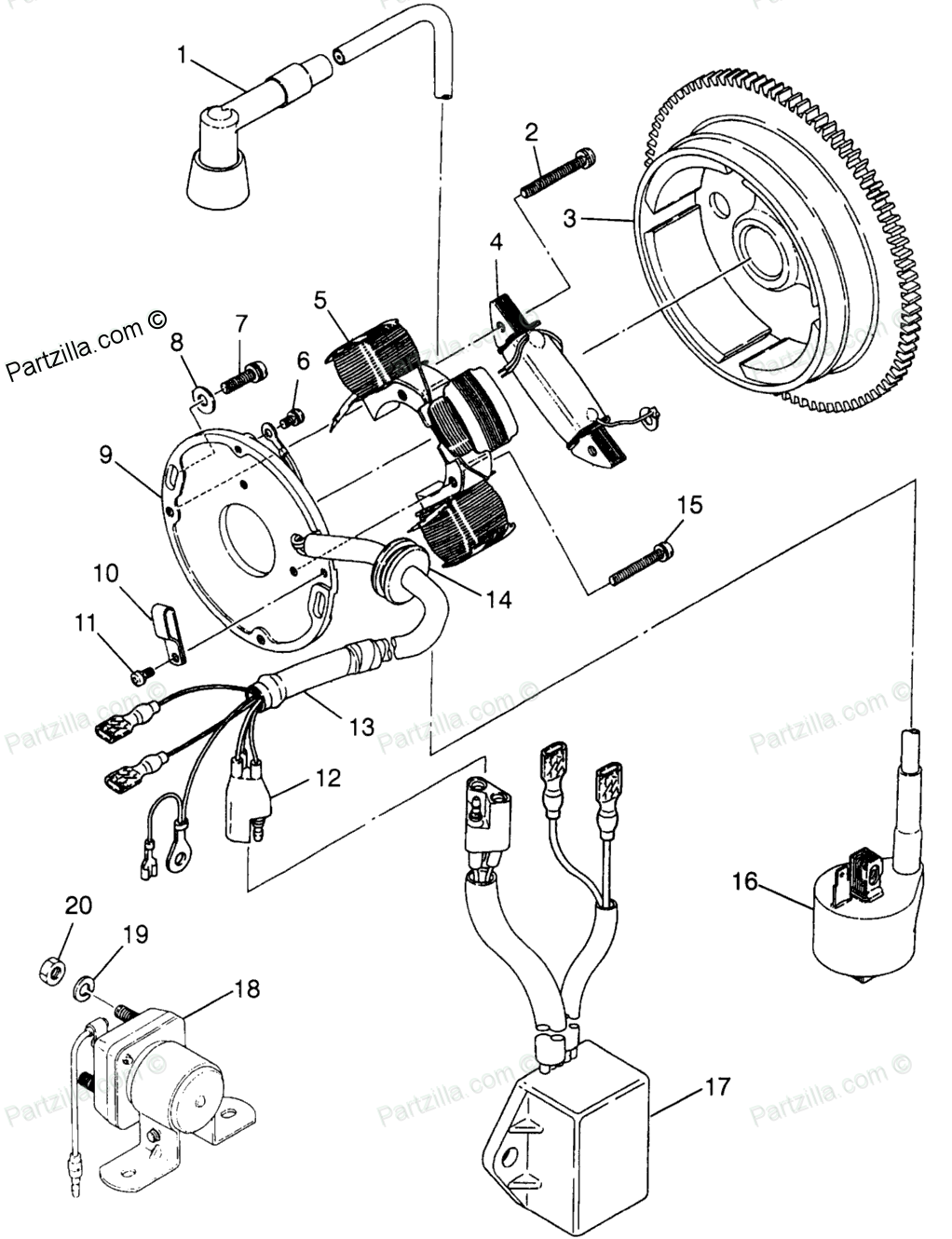 [DIAGRAM] 1995 Polaris 250 Trail Boss Wiring Diagram FULL