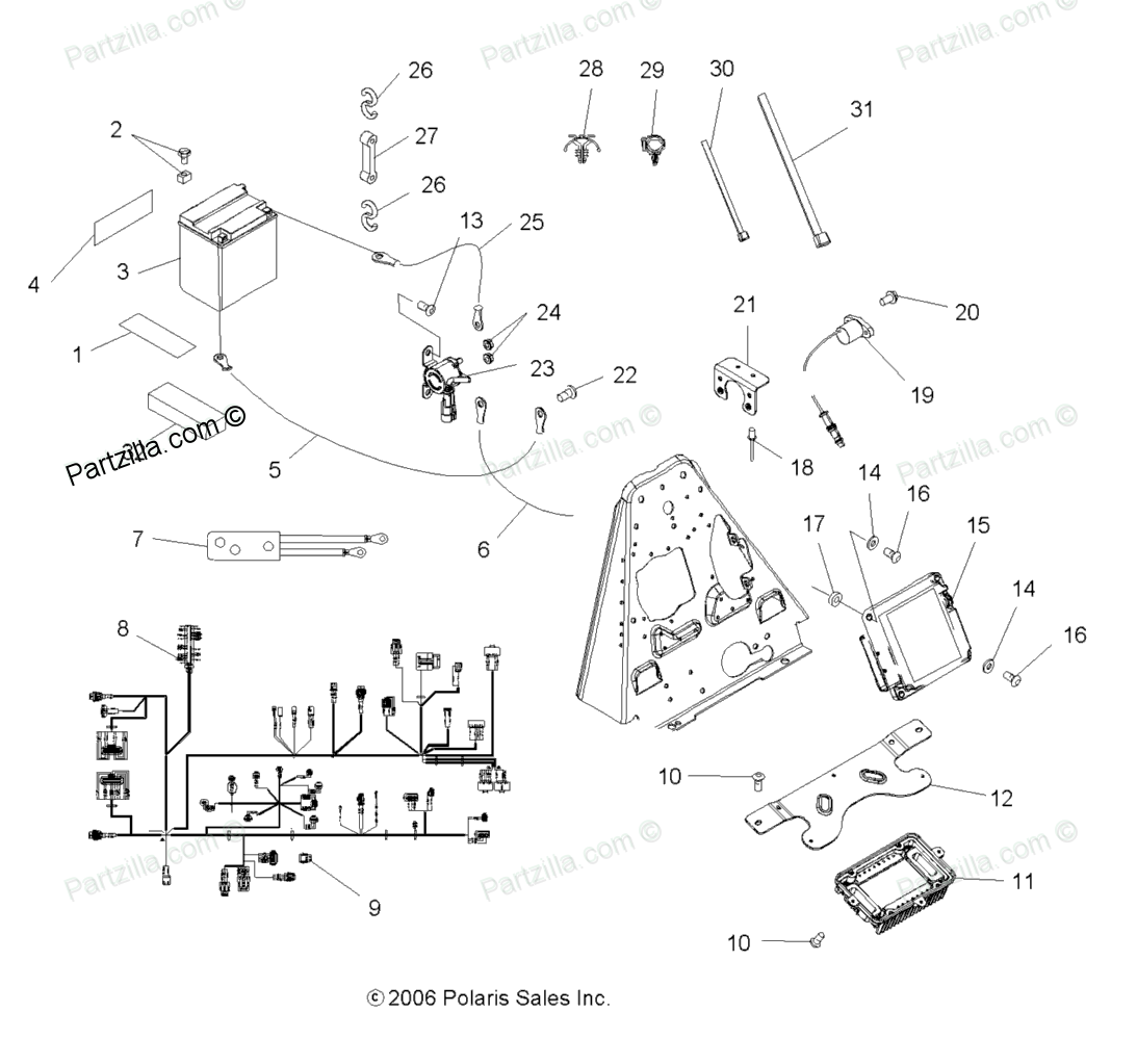Polaris Sportsman 500 Parts. Parts. Wiring Diagram Images