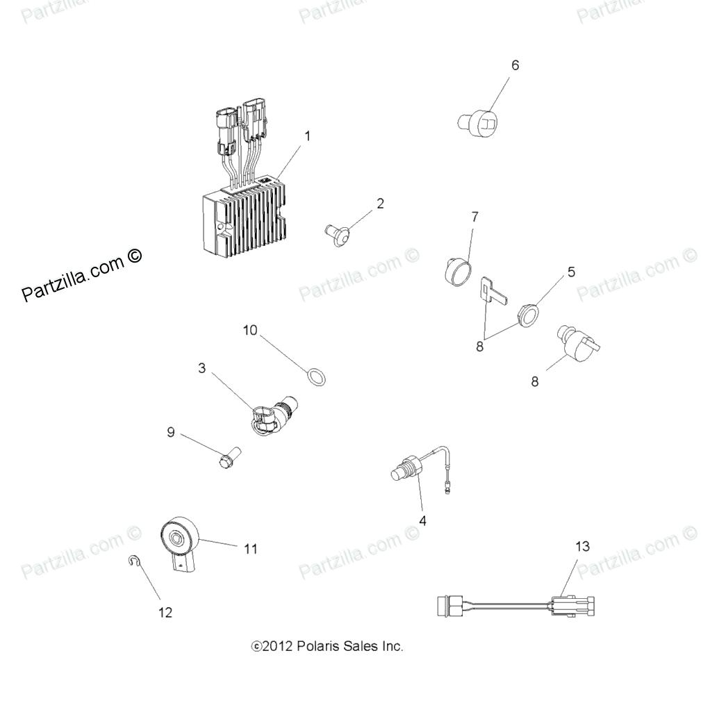 2013 Polaris Sportsman 500 Ho Wiring Diagram