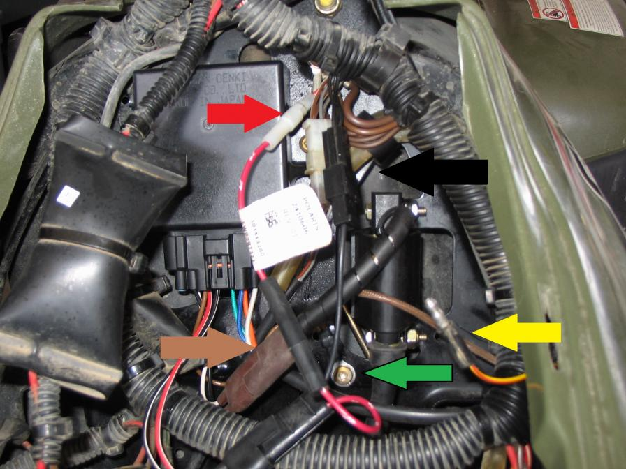 Polaris Sportsman 800 Wiring Diagram