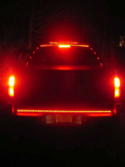 Red Led Light Bar