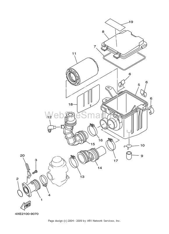 2000 Yamaha Big Bear 400 Carburetor Diagram. Diagram. Auto