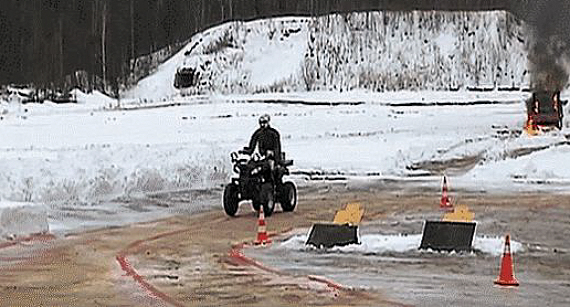 Russia Builds ATV-riding Combat Robot - ATVConnection com