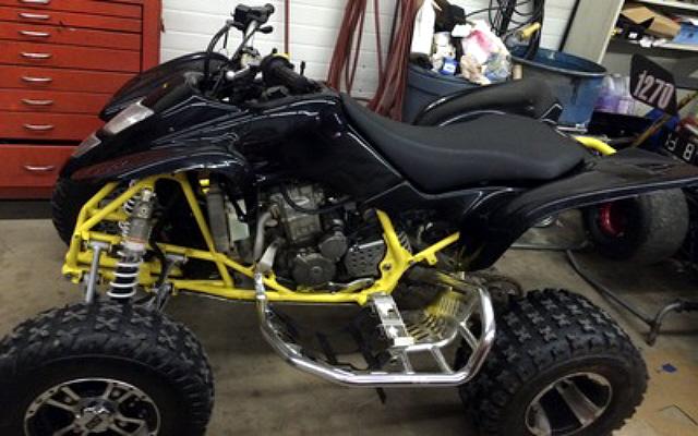 Yamaha Kids Atv >> Weekly Used ATV Deal: Custom Suzuki Z400 - ATVConnection.com