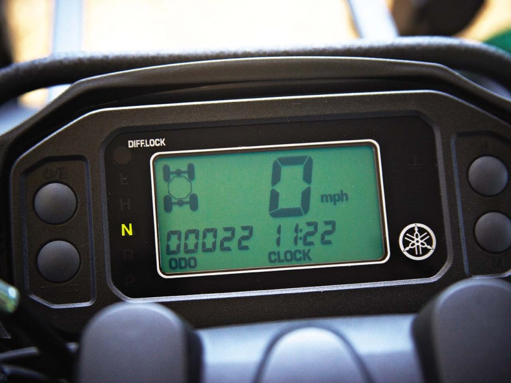 medium resolution of 2011 yamaha grizzly450eps close up console jpg
