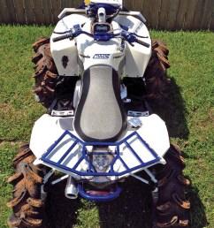 2012 can am renegade800 custom blue top parked  [ 960 x 1280 Pixel ]