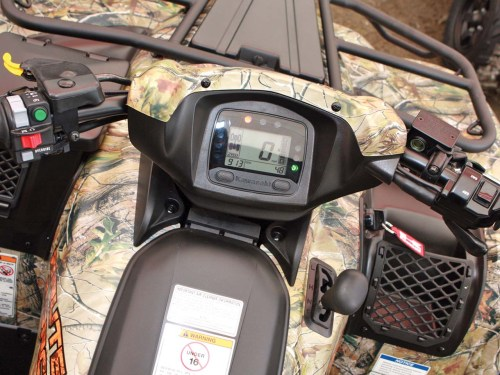 small resolution of 2012 kawasaki brute force750 4x4i close up console