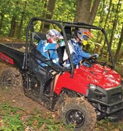 2012 polaris ranger xp800 red front right riding  [ 1280 x 960 Pixel ]