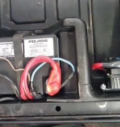 2012 polaris rzr4 battery close up jpg  [ 1280 x 960 Pixel ]
