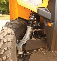 2012 polaris sportsman500ho close up front suspension jpg [ 960 x 1280 Pixel ]