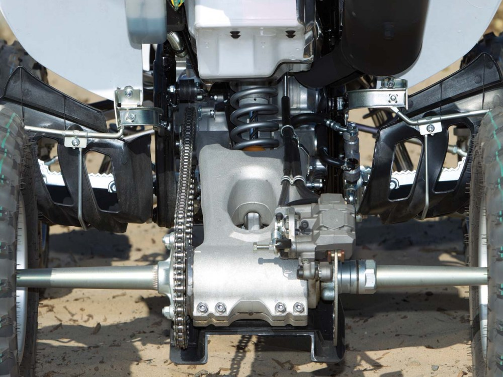 medium resolution of 2012 yamaha yfz450 close up rear suspension jpg