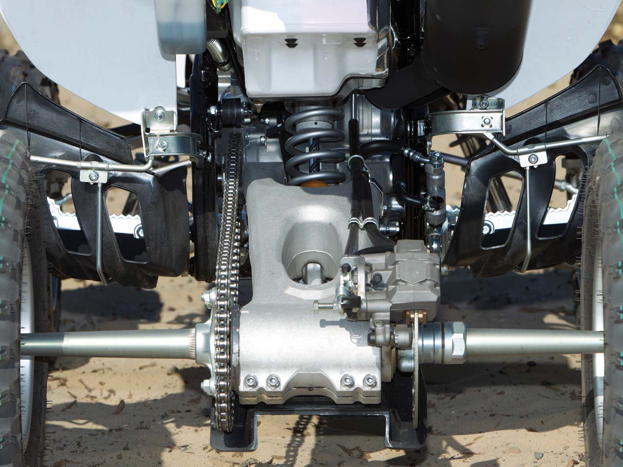 hight resolution of 2012 yamaha yfz450 close up rear suspension jpg