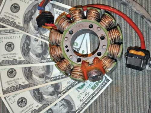 small resolution of 2013 poalris sportsman close up stator coil jpg