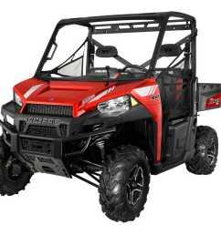 2013 polaris ranger xp700 red front left studio  [ 1280 x 960 Pixel ]