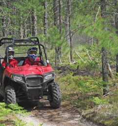 2013 polaris rzr570 red front right riding on  [ 1280 x 960 Pixel ]
