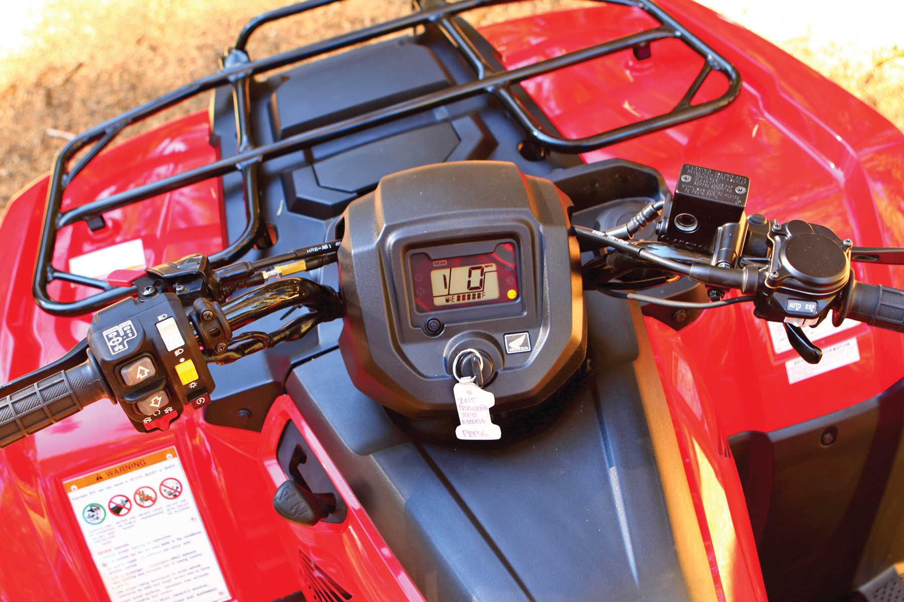 2003 Honda Rancher Wiring Diagram Honda Ride Amp Review Sierra Club Atv Illustrated