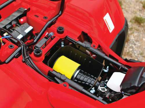 small resolution of 2015 honda fourtrax foreman rubicon close up