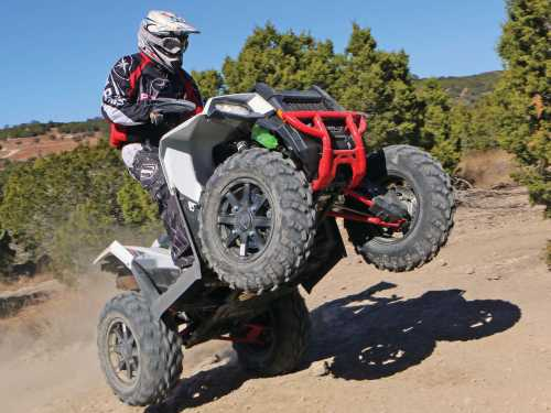 small resolution of 2015 polaris sportsman ace front right white riding