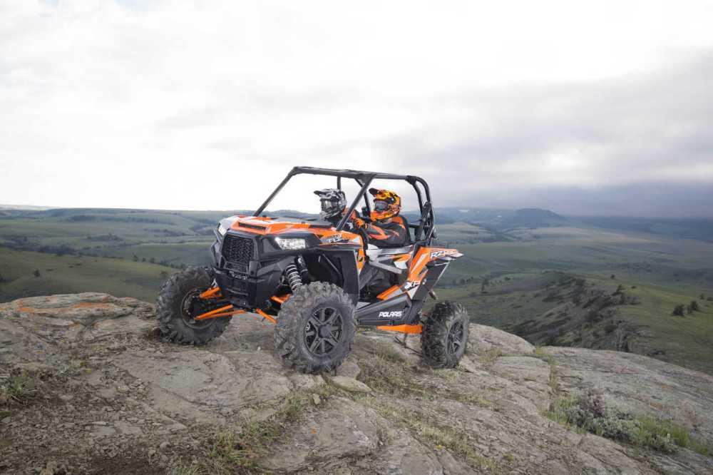 medium resolution of 2016 polaris rzr xp turbo eps orange front