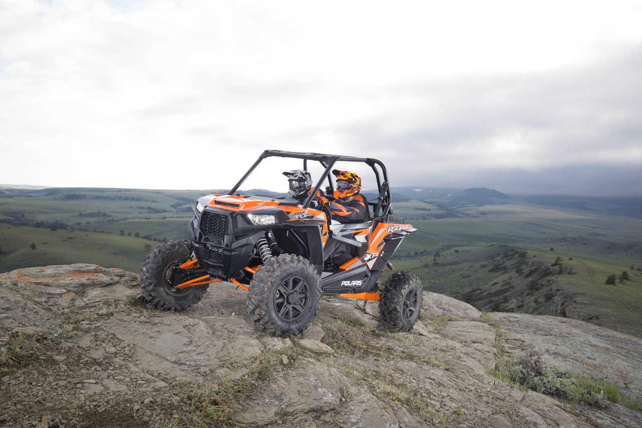 hight resolution of 2016 polaris rzr xp turbo eps orange front
