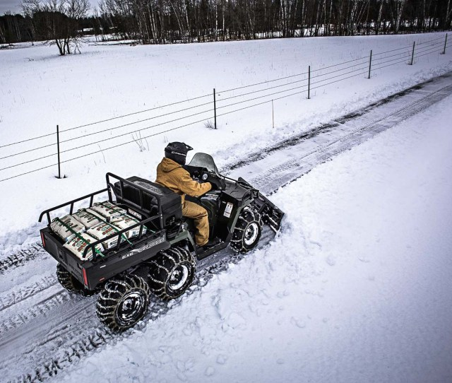 2017 Feature Snow Plow Review Atv Plowing Snow