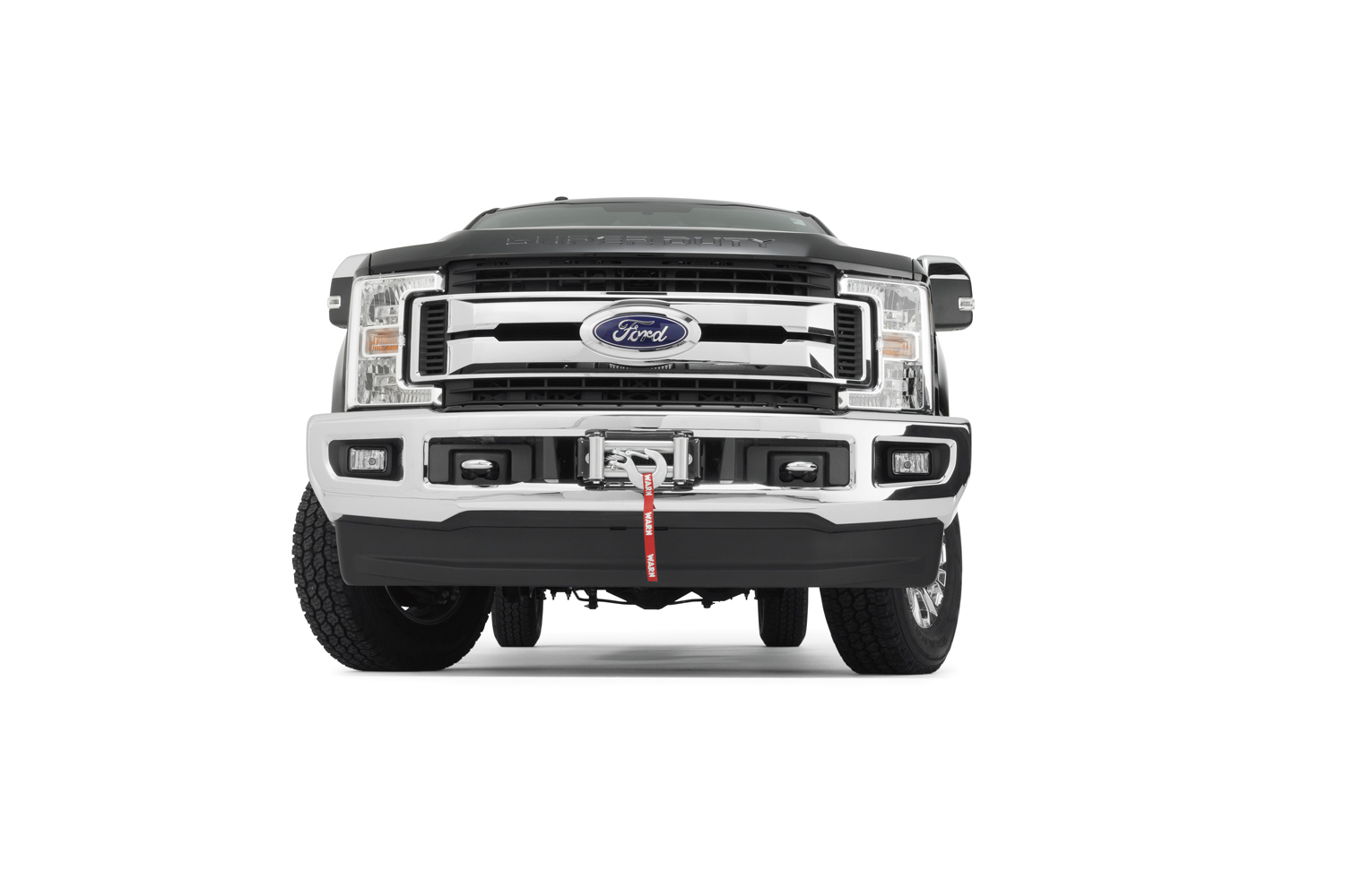 hight resolution of the super duty hidden kit retains the factory front bumper even with the winch installed the mount will accommodate warn heavy weight winches m12 m12 s