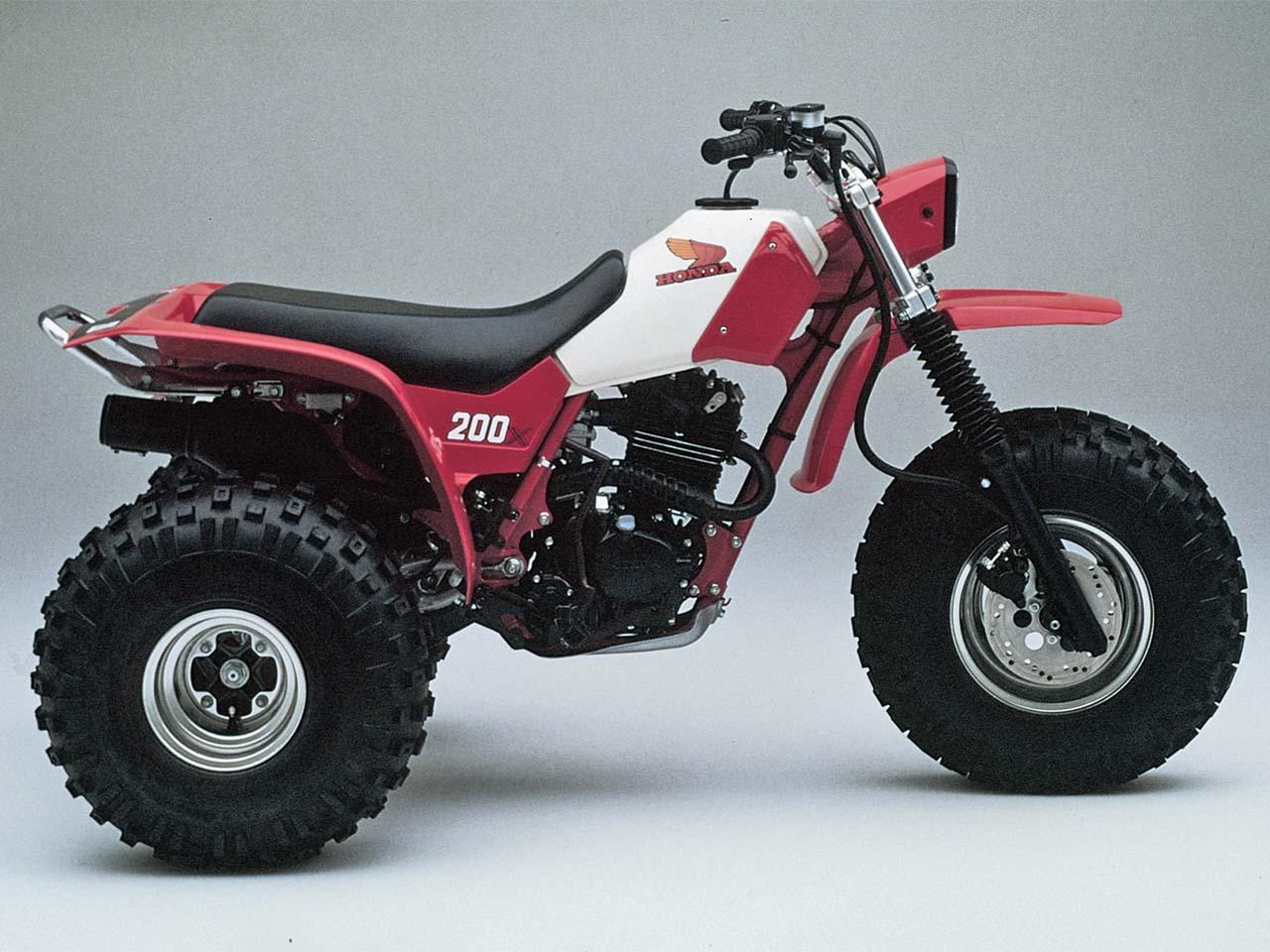 hight resolution of honda was back honda 1983 atc200x right red studio jpg