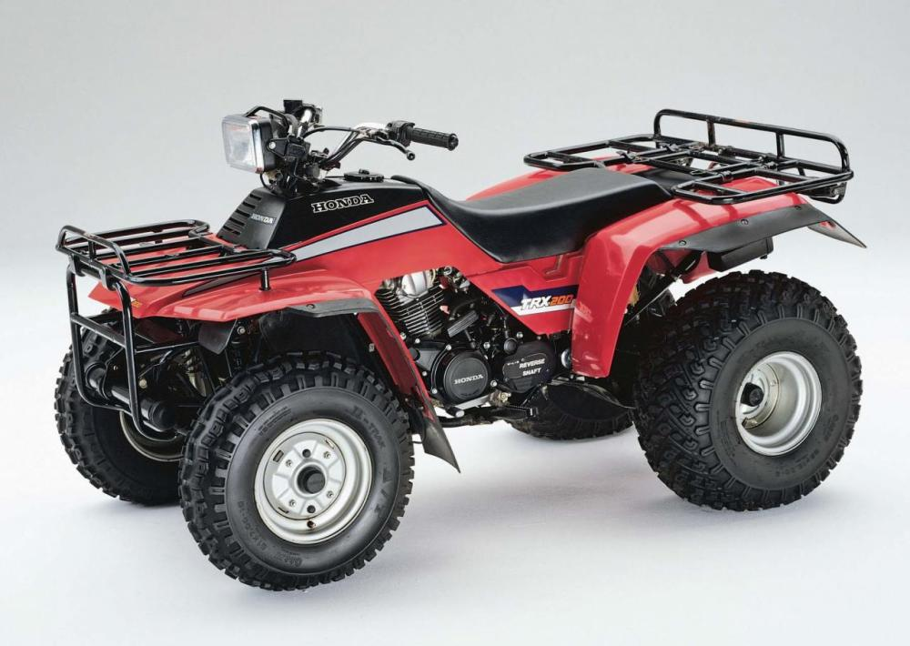 medium resolution of  honda 1984 trx200 left red studio jpg