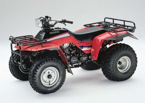 small resolution of  honda 1984 trx200 left red studio jpg