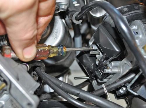 small resolution of  black spark plug electrode tech tips 2016 honda trx450r pilot jet carburetor