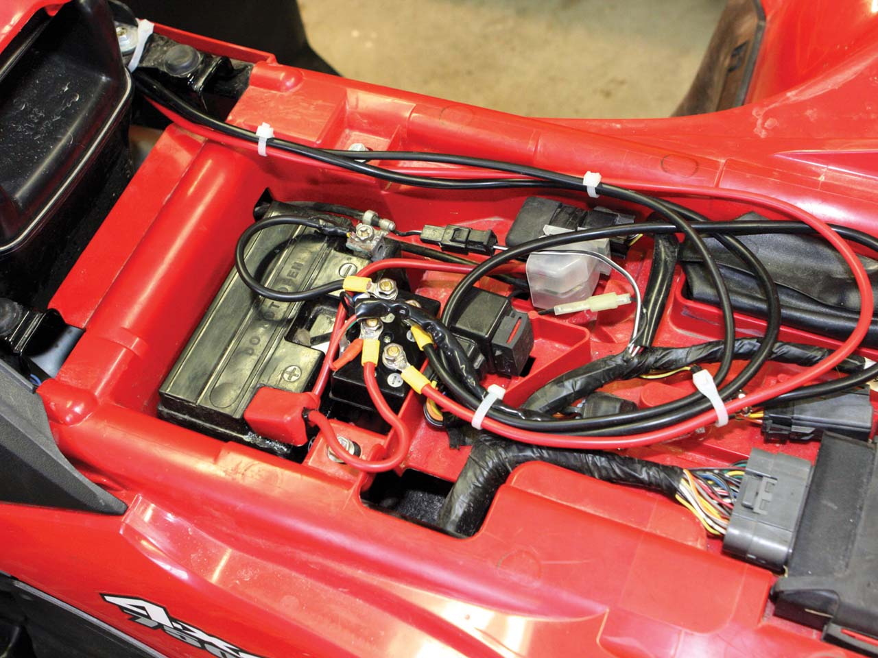Kawasaki Bayou Battery Wiring New Product Test Snow Eagle Atv Illustrated