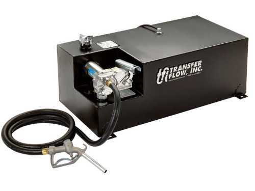 small resolution of transfer flow introduces 40 gallon refueling tank for light duty trucks