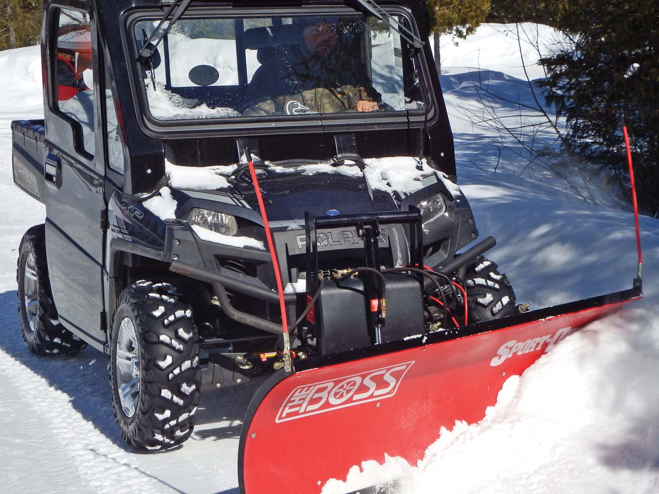 boss snow plows lutron maestro wiring diagram buyer 39s guide plow roundup atv illustrated