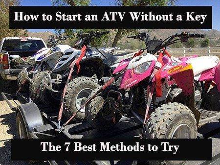 How to Start an ATV without a Key: The 7 Best Methods to Try Only Atv Yamaha Moto Four Wiring Diagram on